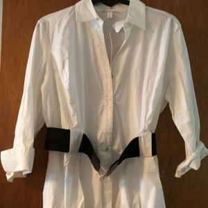 Giorgio Sant Angelo white Blouse with belt